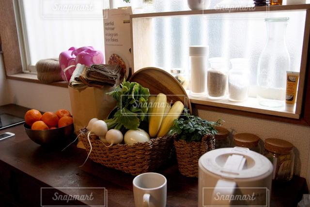 食卓の写真・画像素材[127619]