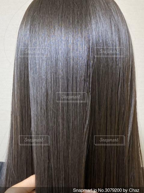 艶髪の写真・画像素材[3079200]
