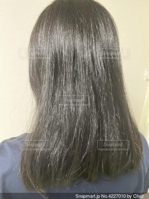 くせ毛の写真・画像素材[4227010]