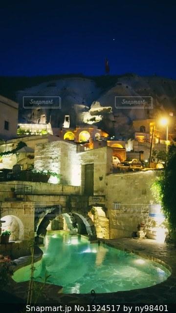 カッパドキアの洞窟ホテルの写真・画像素材[1324517]