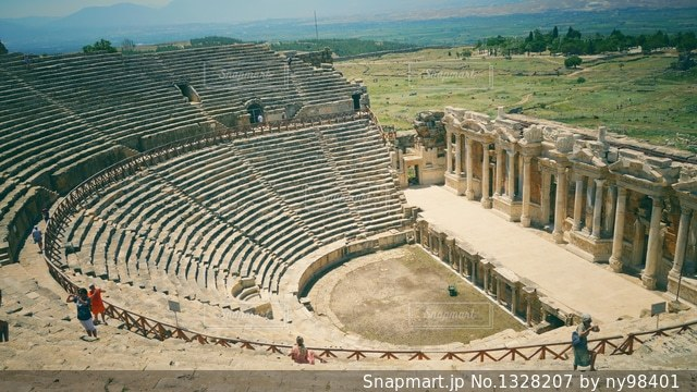 ヒエラポリスの写真・画像素材[1328207]