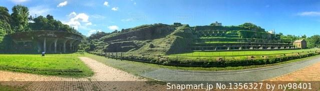 北沢浮遊選鉱場跡の写真・画像素材[1356327]