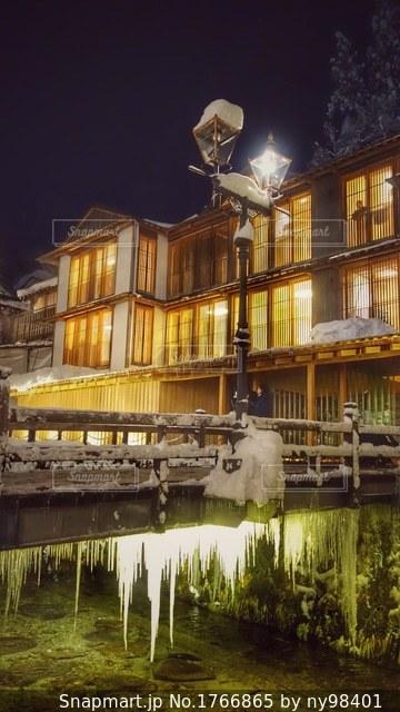 銀山温泉の写真・画像素材[1766865]