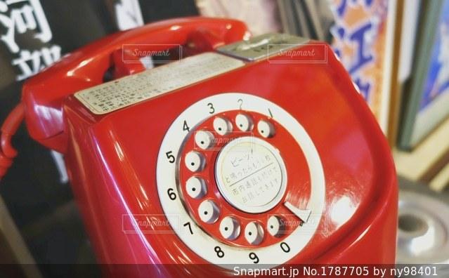 赤電話の写真・画像素材[1787705]