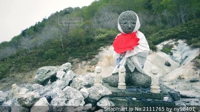恐山の写真・画像素材[2111765]