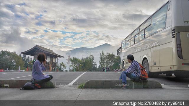 バスの旅の写真・画像素材[2780482]
