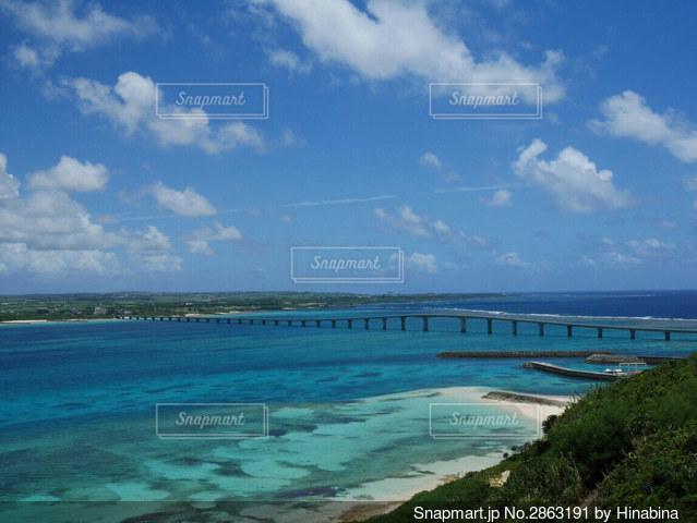 大きな水域の写真・画像素材[2863191]