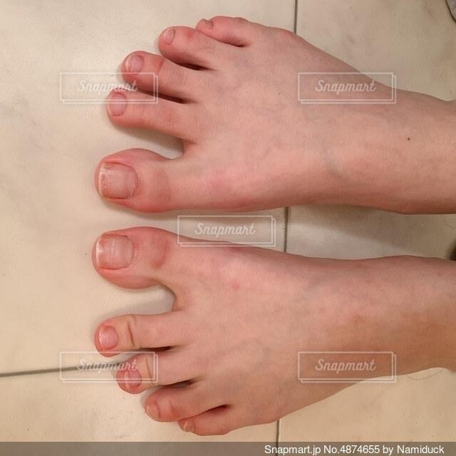 足の指の写真・画像素材[4874655]