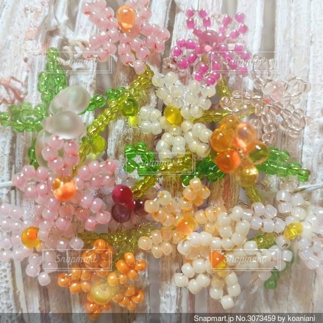 花飾り…の写真・画像素材[3073459]