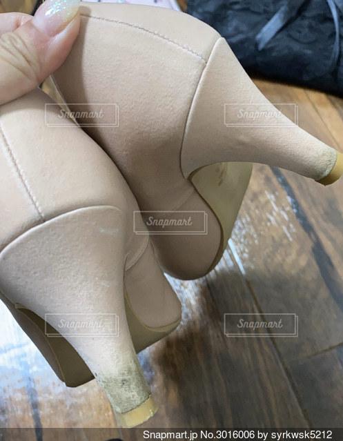 汚れた靴の写真・画像素材[3016006]