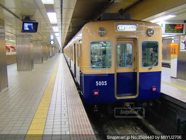 阪神電車 普通5000系の写真・画像素材[3588440]