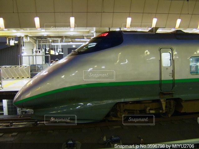 新幹線つばさ 400系の写真・画像素材[3596798]