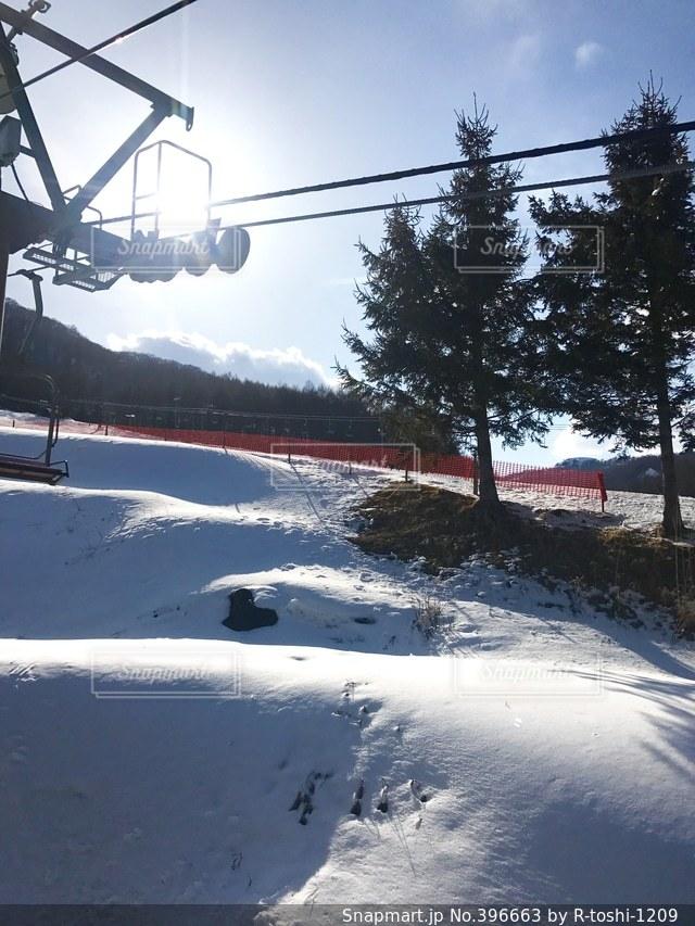 冬,雪,スキー場
