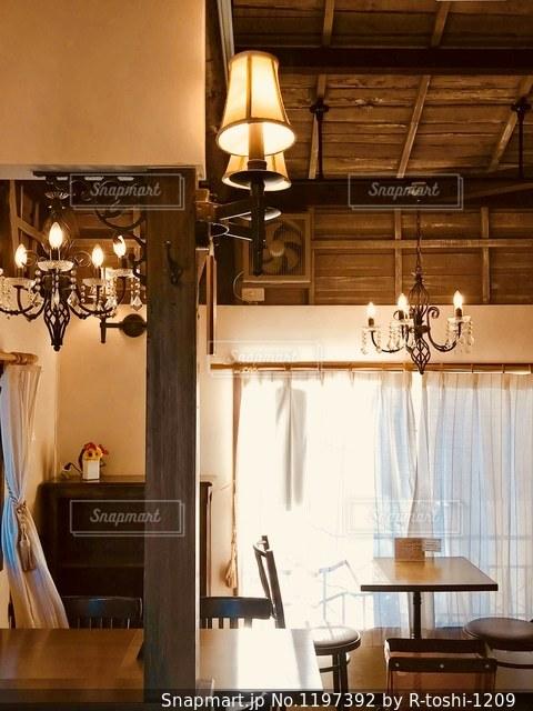 古民家カフェで、ひと息の写真・画像素材[1197392]
