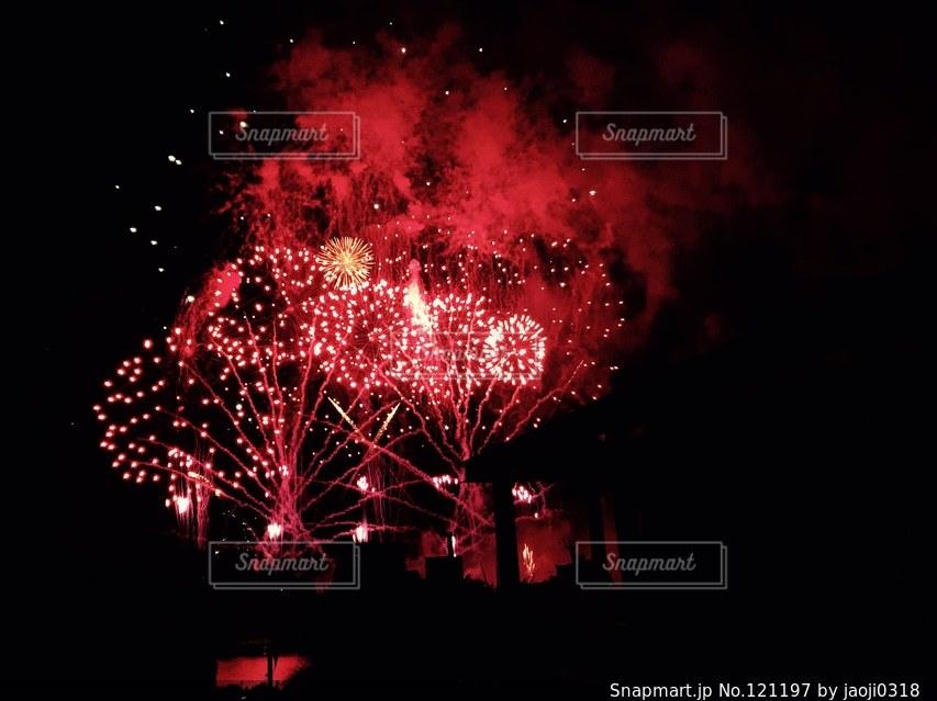 花火の写真・画像素材[121197]