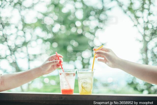 飲み物の写真・画像素材[3658952]