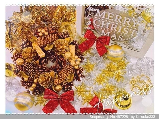 クリスマスイメージの写真・画像素材[4872281]