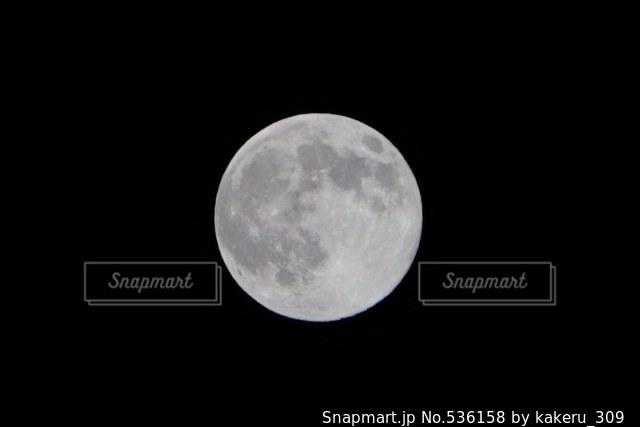 夜空の写真・画像素材[536158]