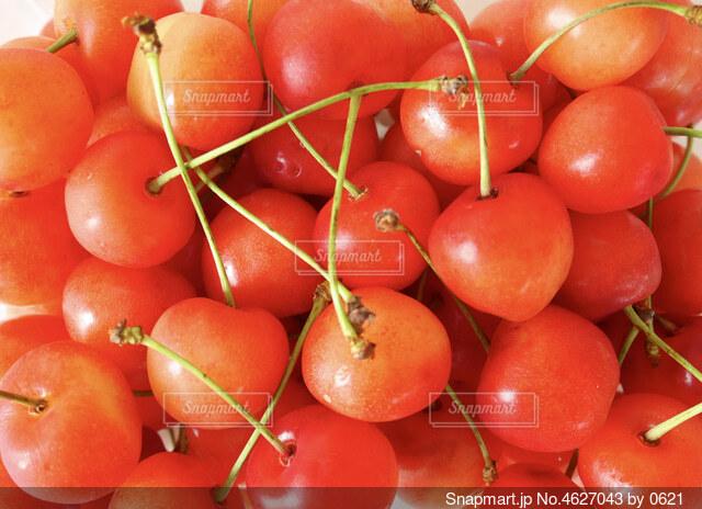 たくさんの果物の写真・画像素材[4627043]