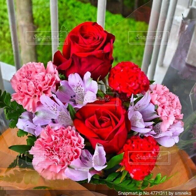 花束の写真・画像素材[4771311]