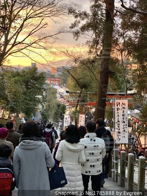 京都吉田神社の節分祭の写真・画像素材[1785888]