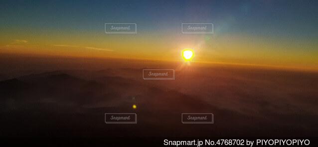夕日の眺めの写真・画像素材[4768702]