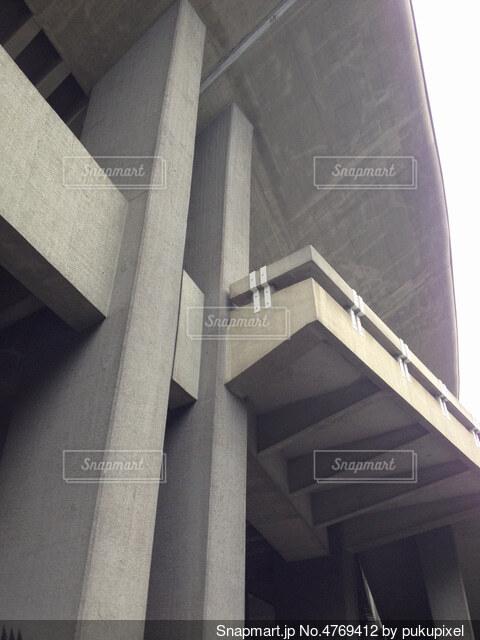 コンクリートの壁の写真・画像素材[4769412]