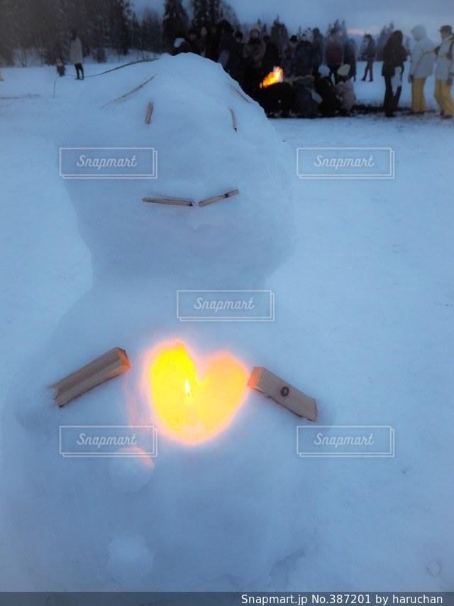 雪の写真・画像素材[387201]