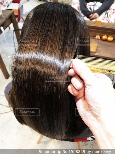 艶髪のイメージの写真・画像素材[1598849]