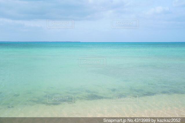沖縄小浜島の海の写真・画像素材[4313989]