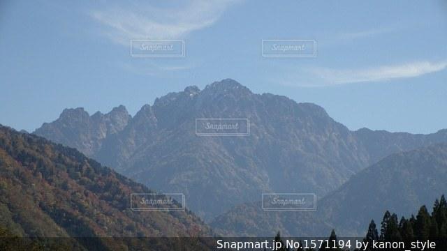 剣岳の写真・画像素材[1571194]