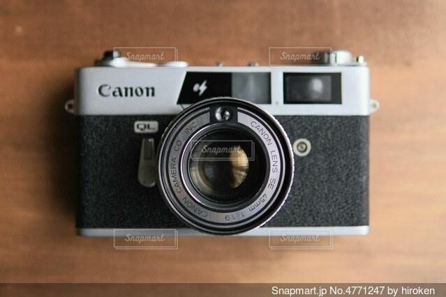 CANONET Q19のクローズアップの写真・画像素材[4771247]