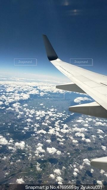 空中機の写真・画像素材[4769565]