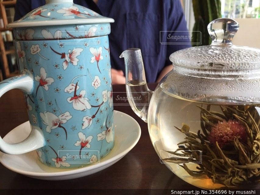 飲み物,グラス,ティータイム,お茶,中国茶,花茶