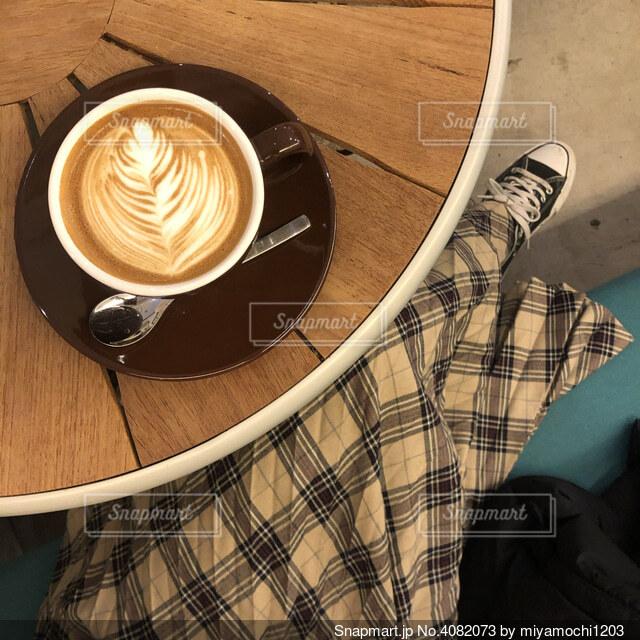 カフェの写真・画像素材[4082073]