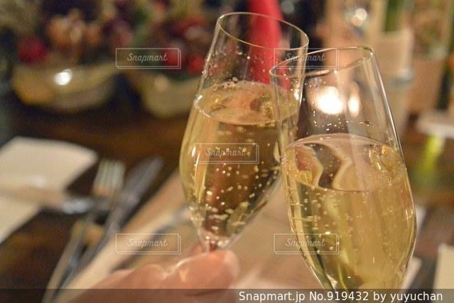 ワインのガラスの写真・画像素材[919432]