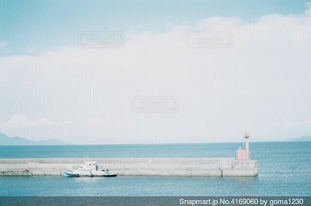 海と船の写真・画像素材[4169060]