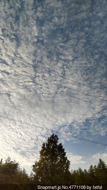 朝6時の空の写真・画像素材[4771108]
