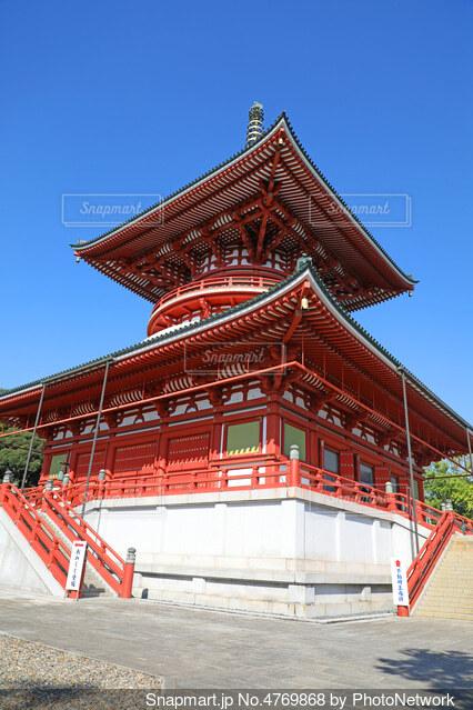 成田山新勝寺の平和大塔の写真・画像素材[4769868]