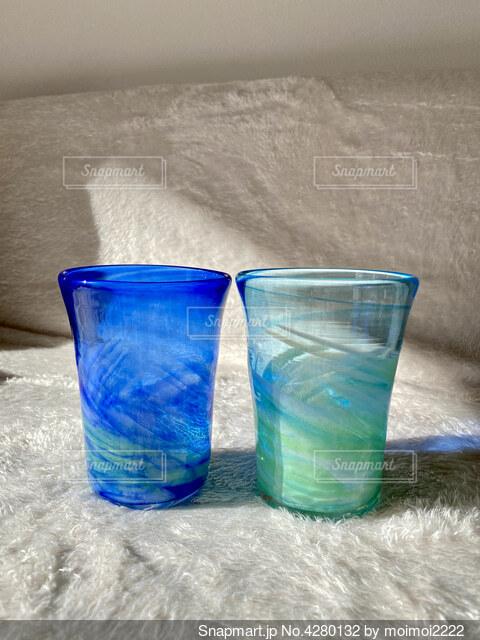 琉球ガラスの写真・画像素材[4280132]