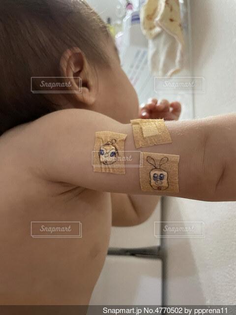 予防接種の写真・画像素材[4770502]