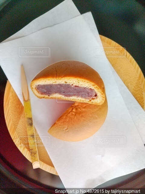 和菓子の代表である饅頭の写真・画像素材[4872615]