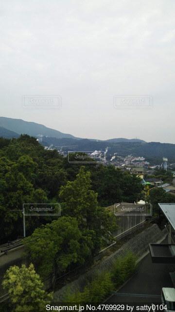 山道の眺めの写真・画像素材[4769929]