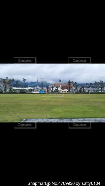 緑のフィールドのスクリーン ショットの写真・画像素材[4769930]