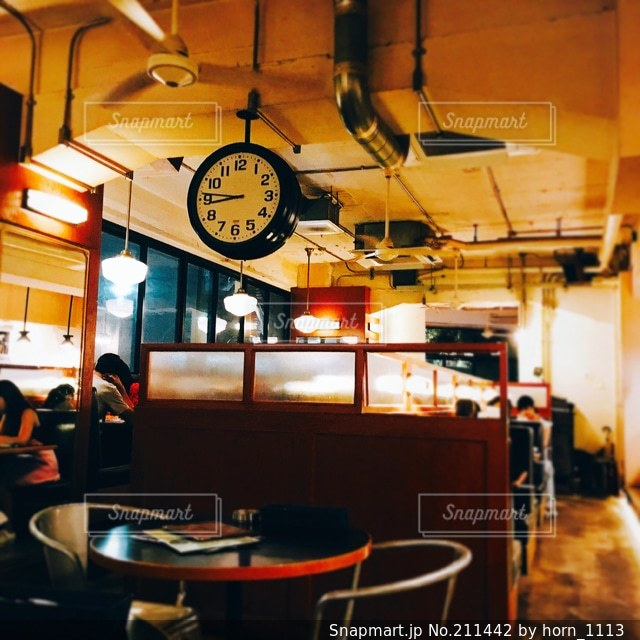 カフェの写真・画像素材[211442]