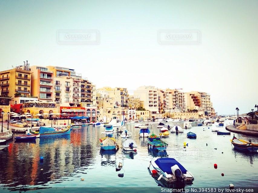 カラフル,ボート,船,地中海,マルタ,マルタ共和国,サンジュリアン