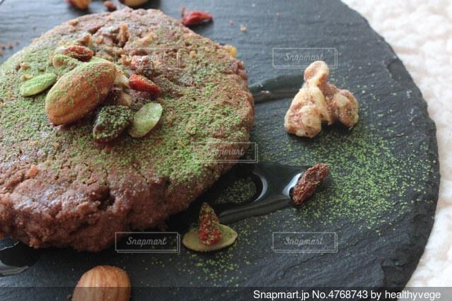 ケールパンケーキの写真・画像素材[4768743]