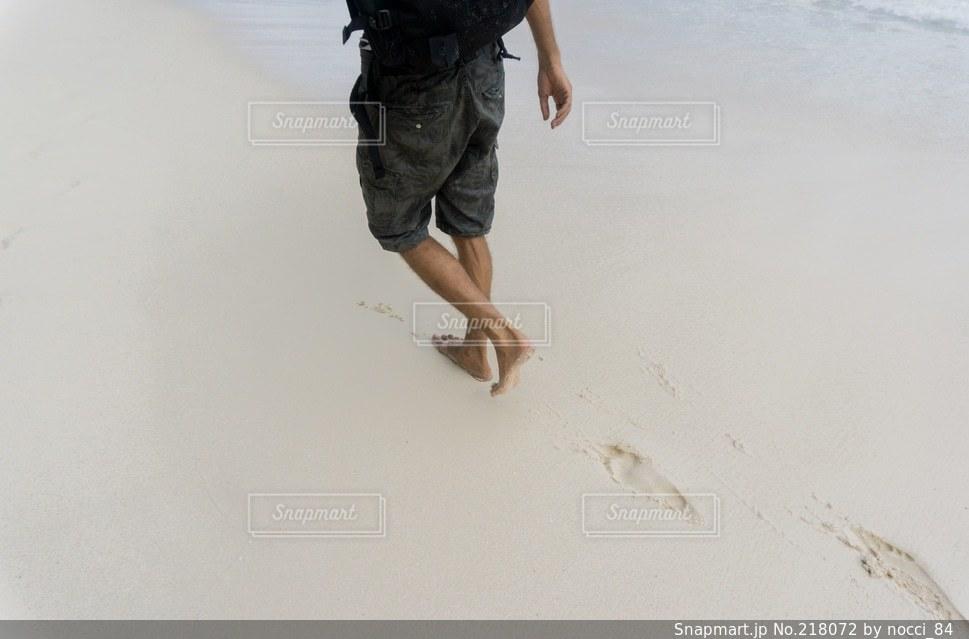 砂浜の写真・画像素材[218072]