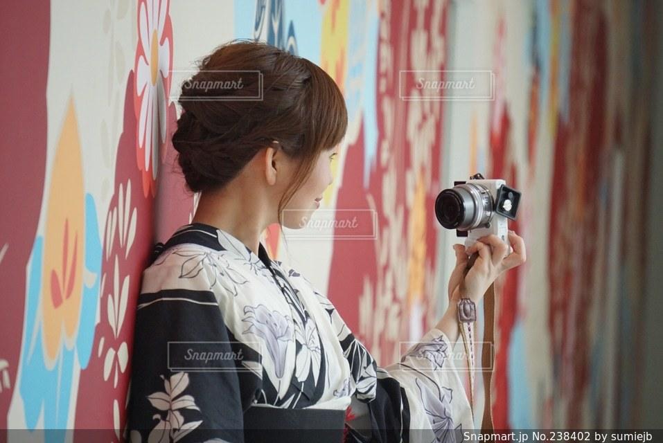 女性の写真・画像素材[238402]