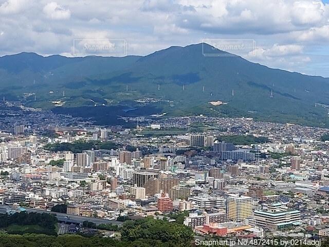 山頂の景色の写真・画像素材[4872415]